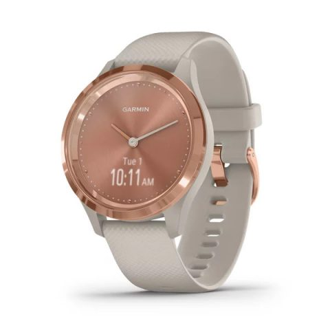 Rose Gold Stainless Steel Bezel with Light Sand
